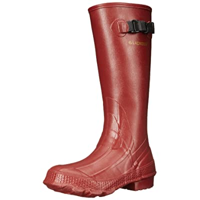 "LaCrosse Women's Grange 14"" Red Rain Boot 
