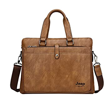 Layxi Herren Business Aktentasche Multipurpose Messenger Bag