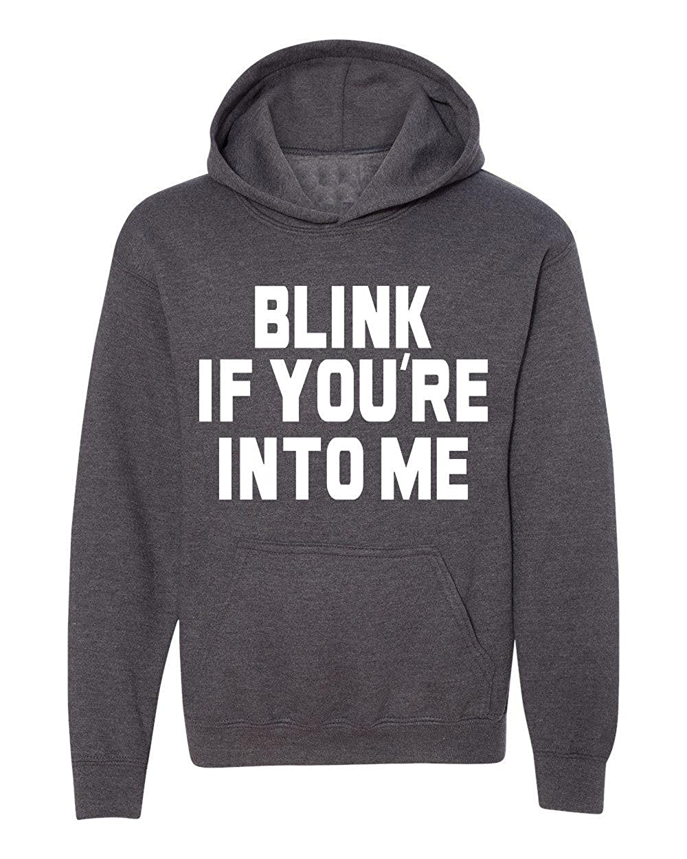 Marky G apparel Boys Blink If Youre Into Me T-Shirt