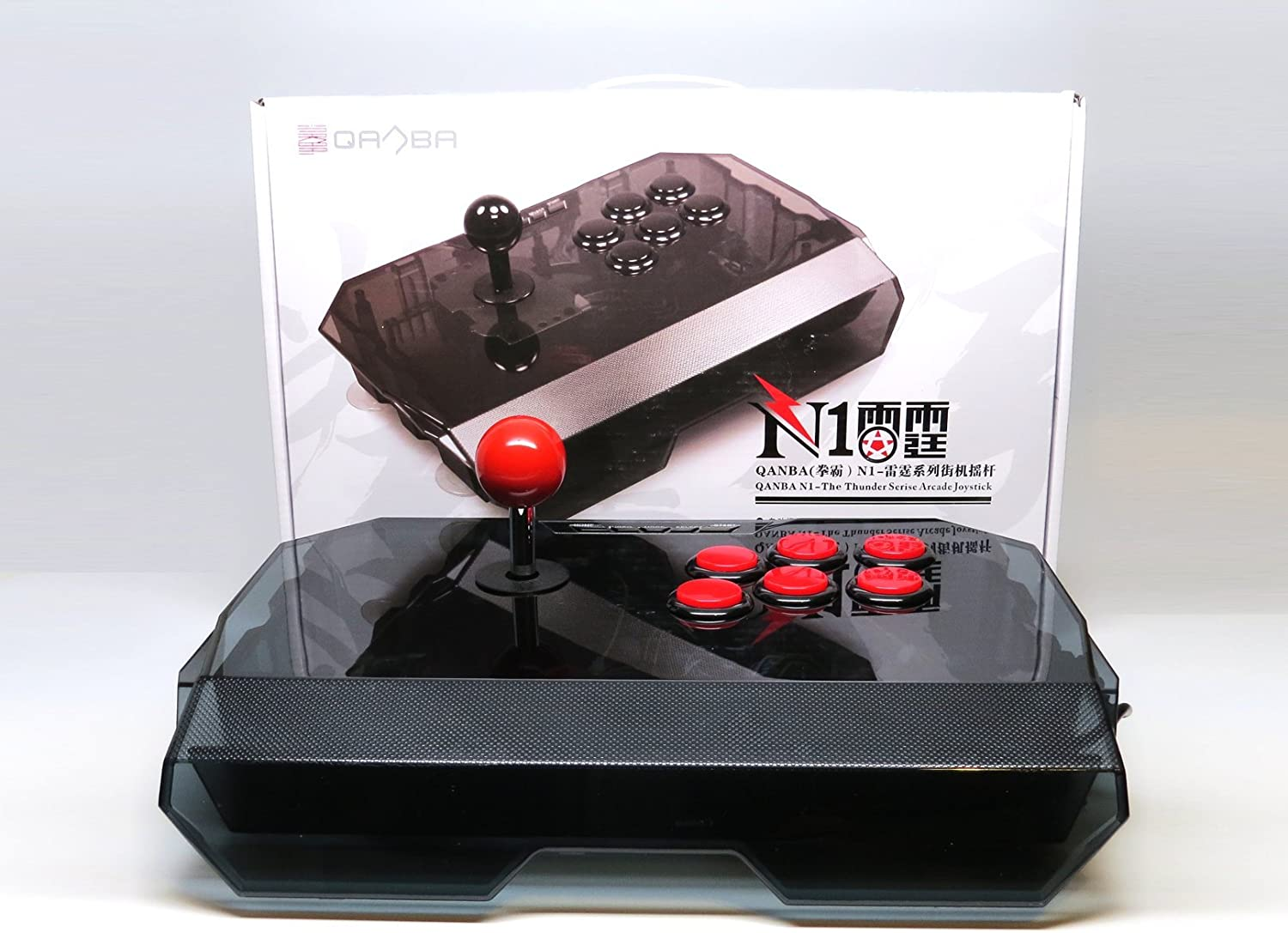 qanba N1 negro PS3/PC Joystick Arcade Fightstick) (: Amazon.es ...