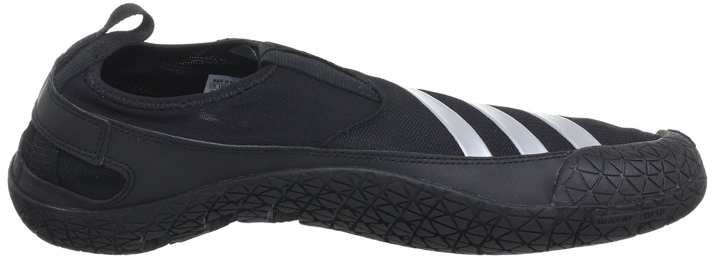 newest 4c6f2 26887 adidas Performance Jawpaw II, Zuecos para Hombre, Negro-Schwarz Metallic  SilverBlack 1, 46 EU Amazon.es Zapatos y complementos