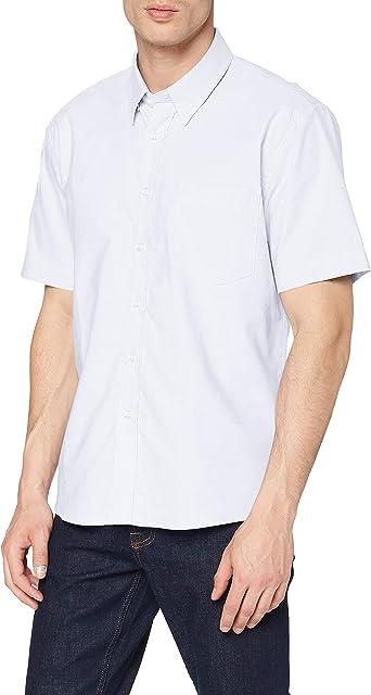 Clique Cambridge Short Sleeve Shirt Camisa de Oficina para Hombre