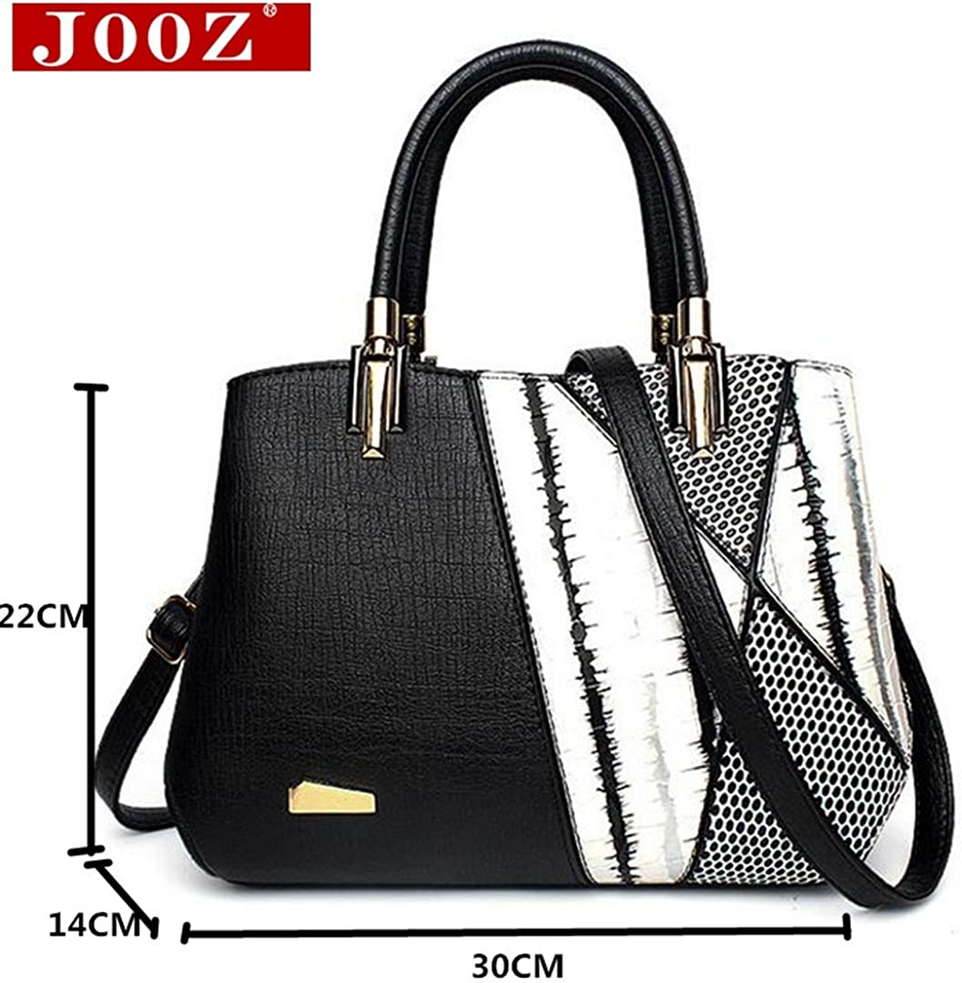Serpentine Woman Shoulder Bags Design Women Luxury Leather Handbags Patchwork Hobos Totes