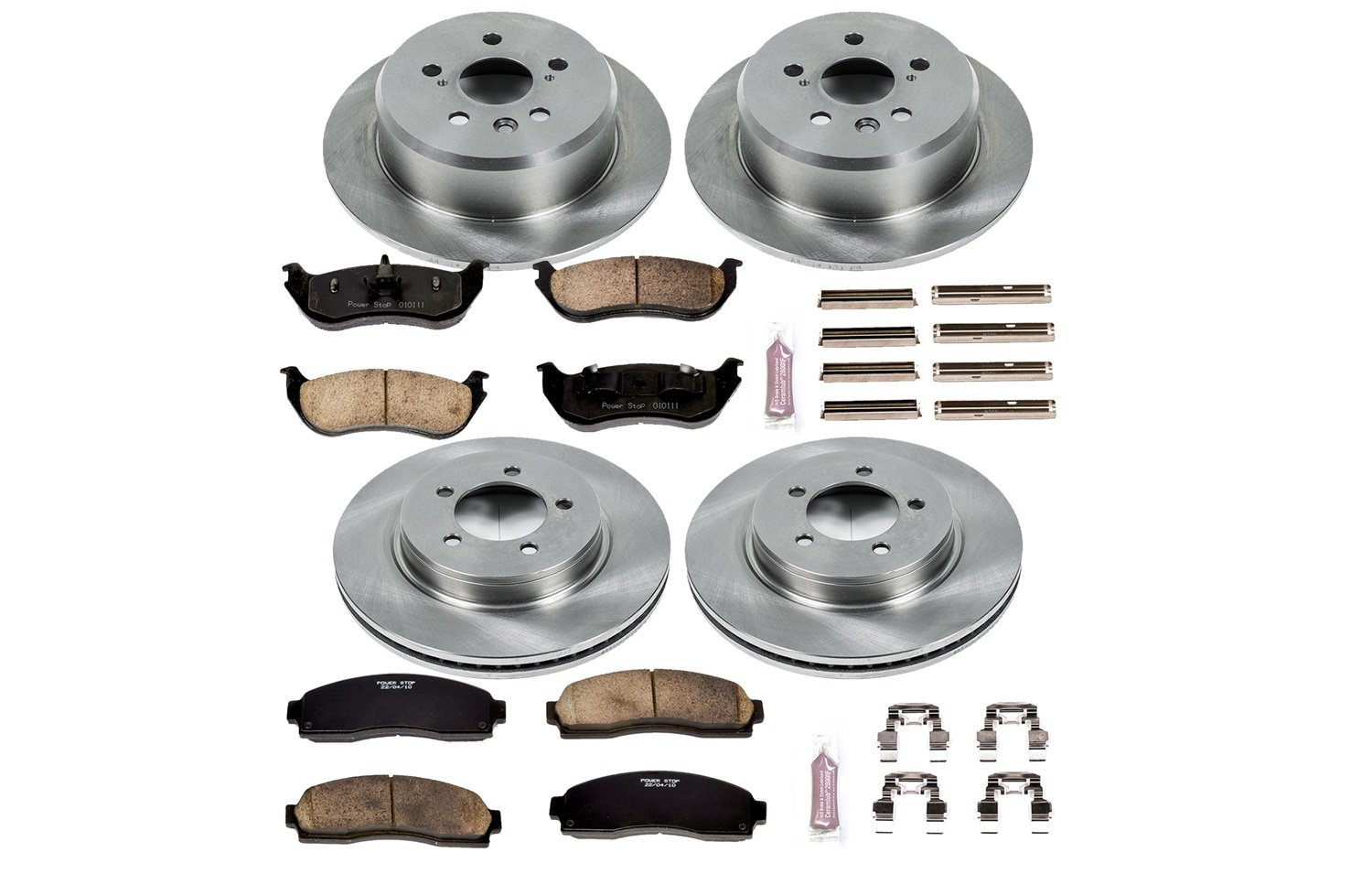 Autospecialty KOE2722 1-Click OE Replacement Brake Kit