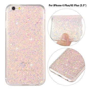 Carcasas iPhone 6S Plus,Funda iPhone 6 Plus Case Rosa ...