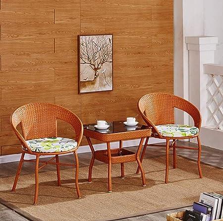 Sedie E Tavoli Da Giardino In Vimini.Kimsai Set Di Mobili Per Sedie Da Giardino Con Portico Cortile Set