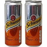 Schweppes Ginger Ale, 330ML (Pack of 6)