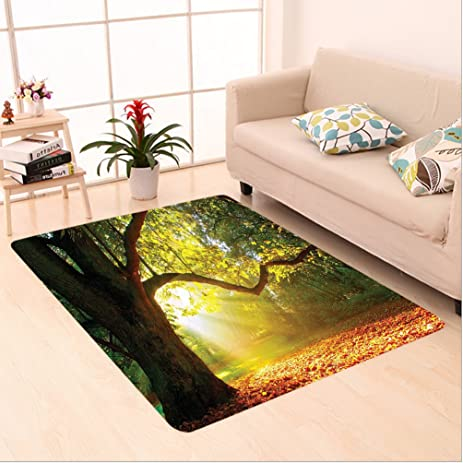 Amazon Com Nalahome Custom Carpet Ajestic Mighty Oak Tree With