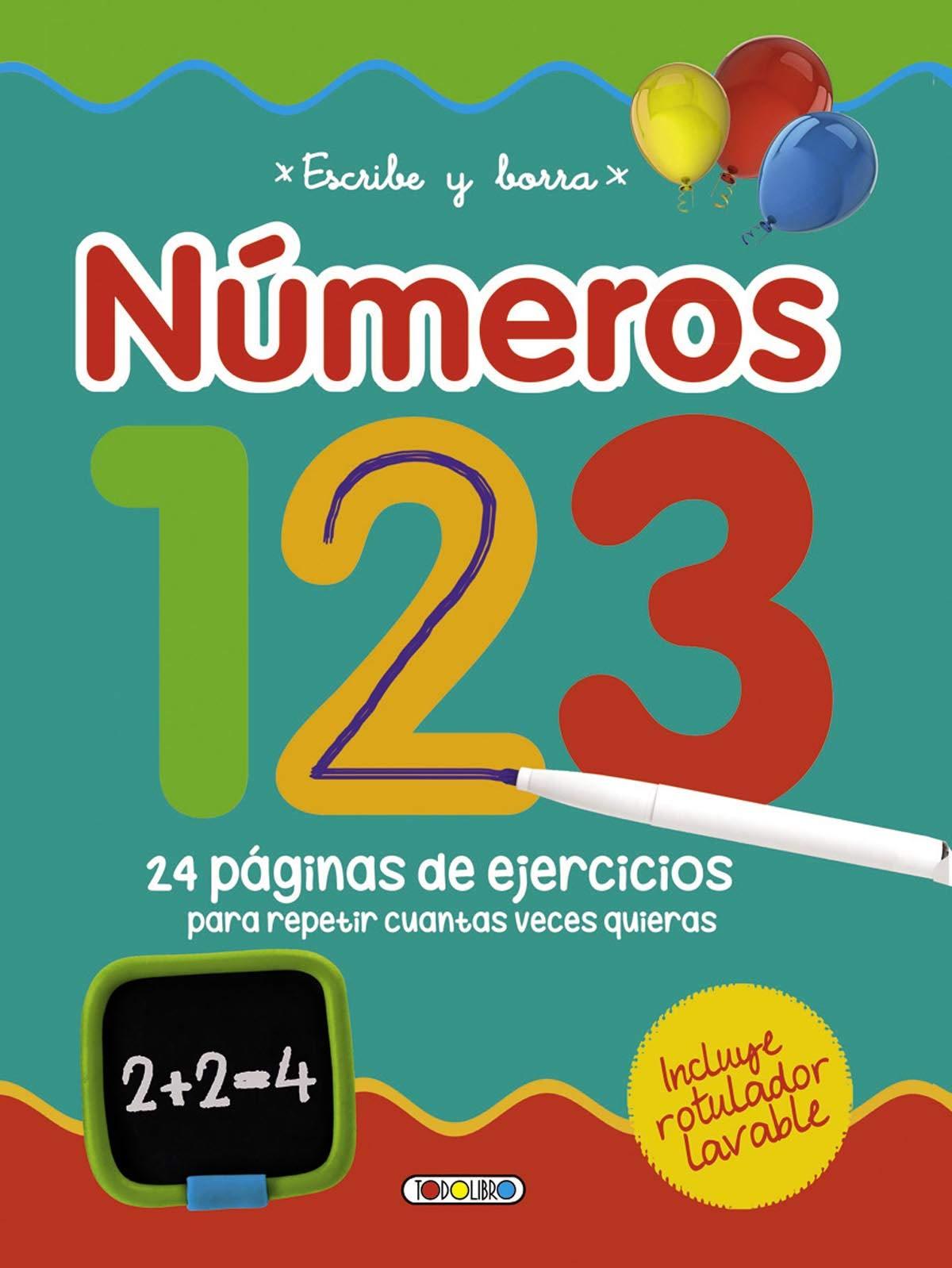 Escribe y borra números 123 (Aprendo con mi pizarra)