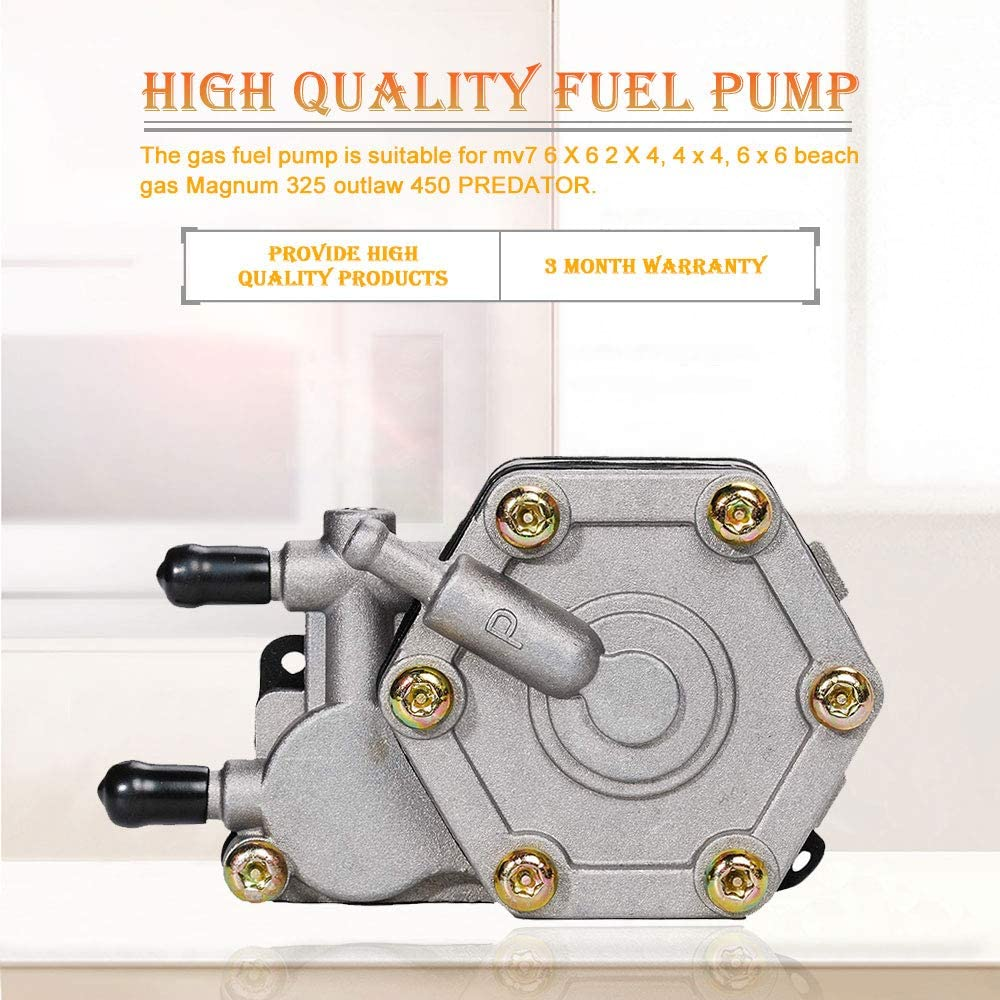 HIFROM Fuel Pump For Polaris Sportsman 400 500 600 700 MV7 6X6 ATV Magnum 325 330 500 Outlaw 450 500 525 Predator 500 Trail Boss 330