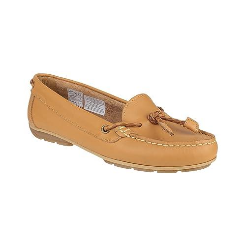 Riva Gorda Zapatos de Mujer/Mocasines de Piel (41/Marrón Tostado)