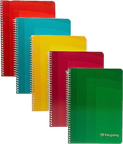 Pergamy 400110831 - Pack de 10 cuadernos con 80 hojas: Amazon.es ...
