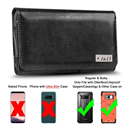 best service e3001 1640c J&D Holster Compatible for Galaxy S8 S9 Holster with Belt Clip, PU Leather  Pouch Case and Leather Wallet Case for Samsung Galaxy S8 S9 Case (Fit with  ...