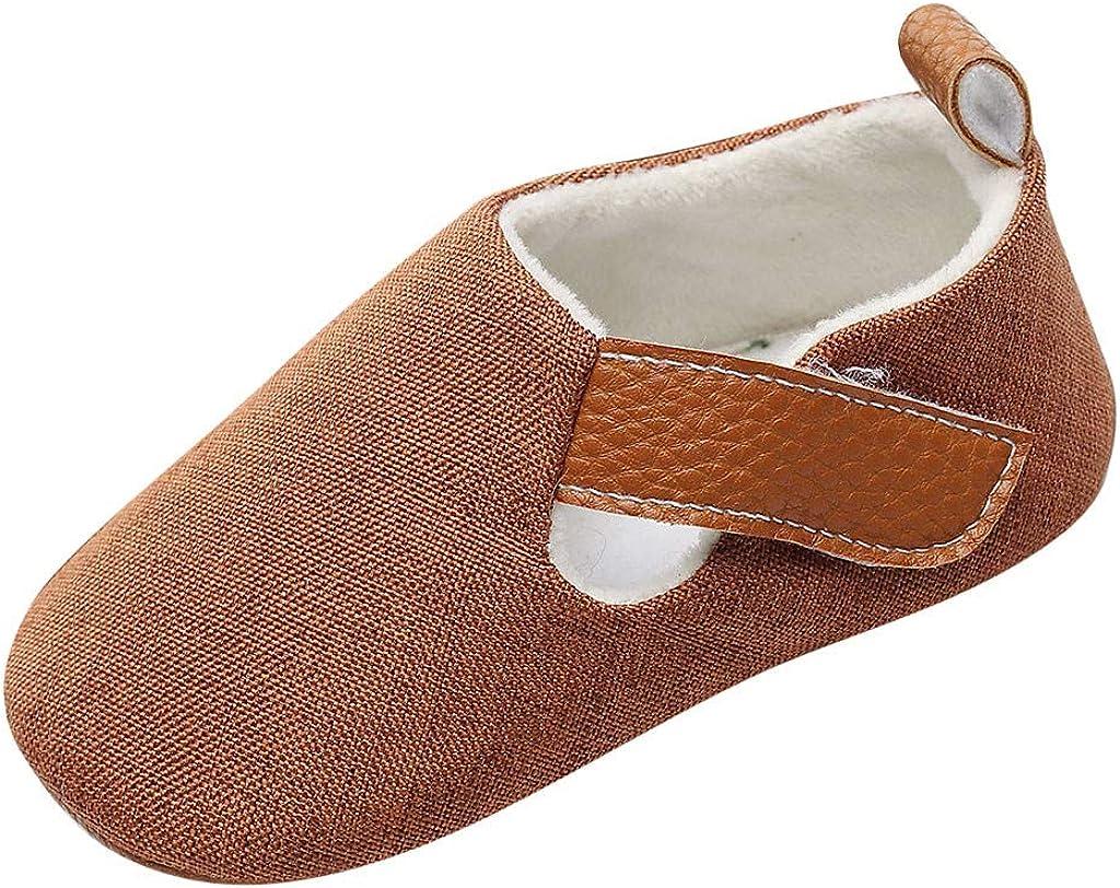 YWLINK Ropa De Bebe Nuevos Bebé ReciéN Nacido NiñOs Zapatos De Dibujos Animados Sandalias Primeros Andadores Zapatos Fondo Blando Antideslizantes Hebilla Lindo Moda Casual Regalo De Bautismo
