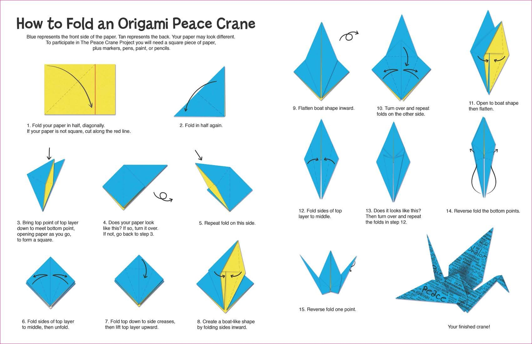 Top 10 Origami Projects for Beginners | 1100x1700
