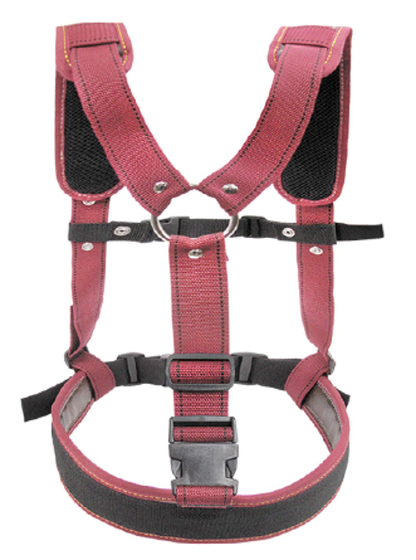 KAYA KL- 210 Carpenter Work Tool Belt Suspenders Support Adjustable Length by KAYA (Image #2)