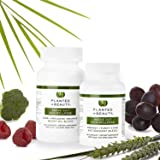 Vegan Collagen Supplement & Skin Vitamins Supplement Program - Natural Collagen Vitamins Formula to Protect, Purify, Glow + Replenish - Cruelty Free & Non-GMO (60 Day Supply) by Planted in Beauty