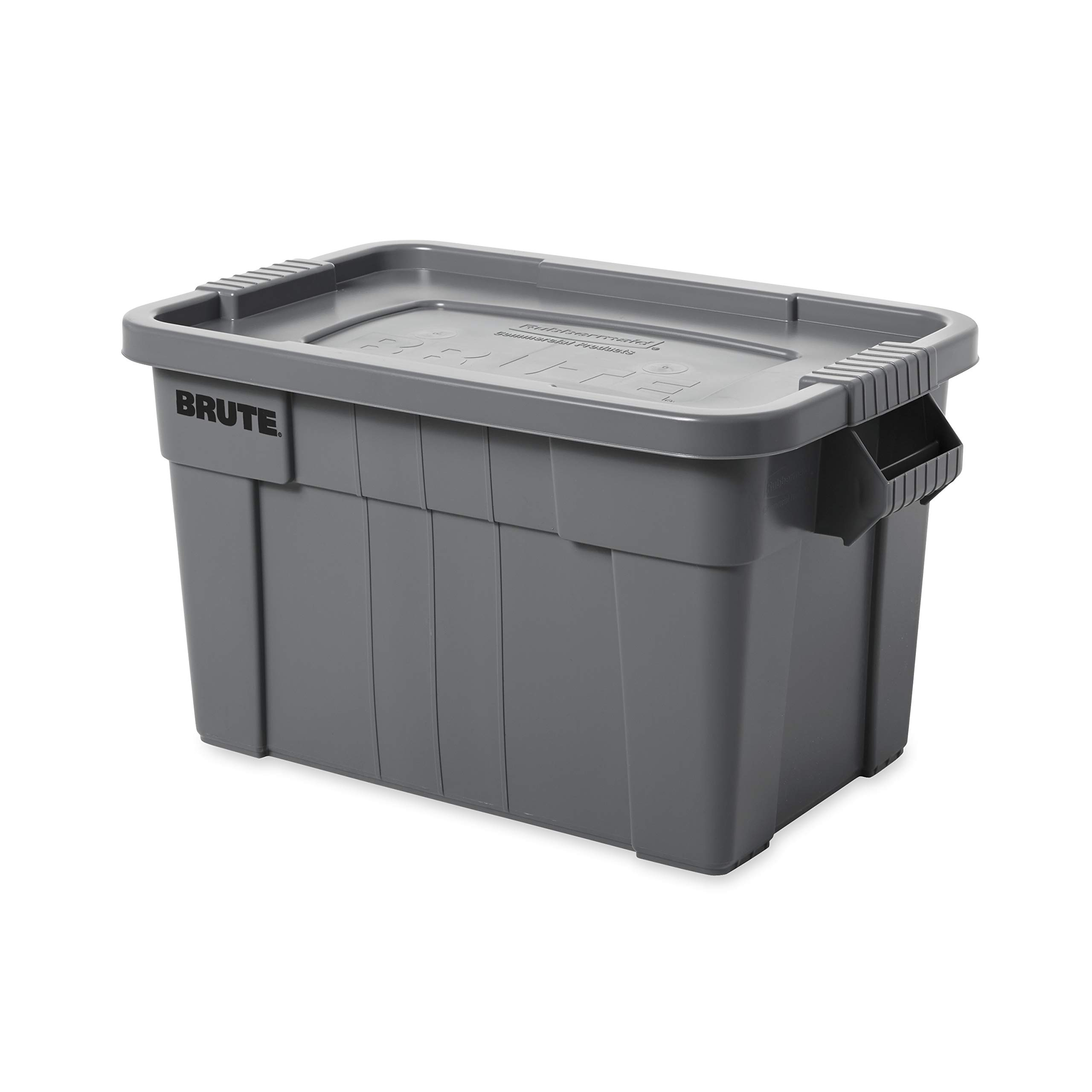 Rubbermaid Commercial Products Brute Tote Storage Container With Lid, 20-Gallon, Gray (Fg9S3100Gray) by Rubbermaid Commercial Products