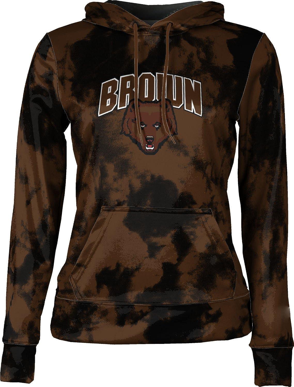 School Spirit Sweatshirt Grunge ProSphere Brown University Girls Pullover Hoodie