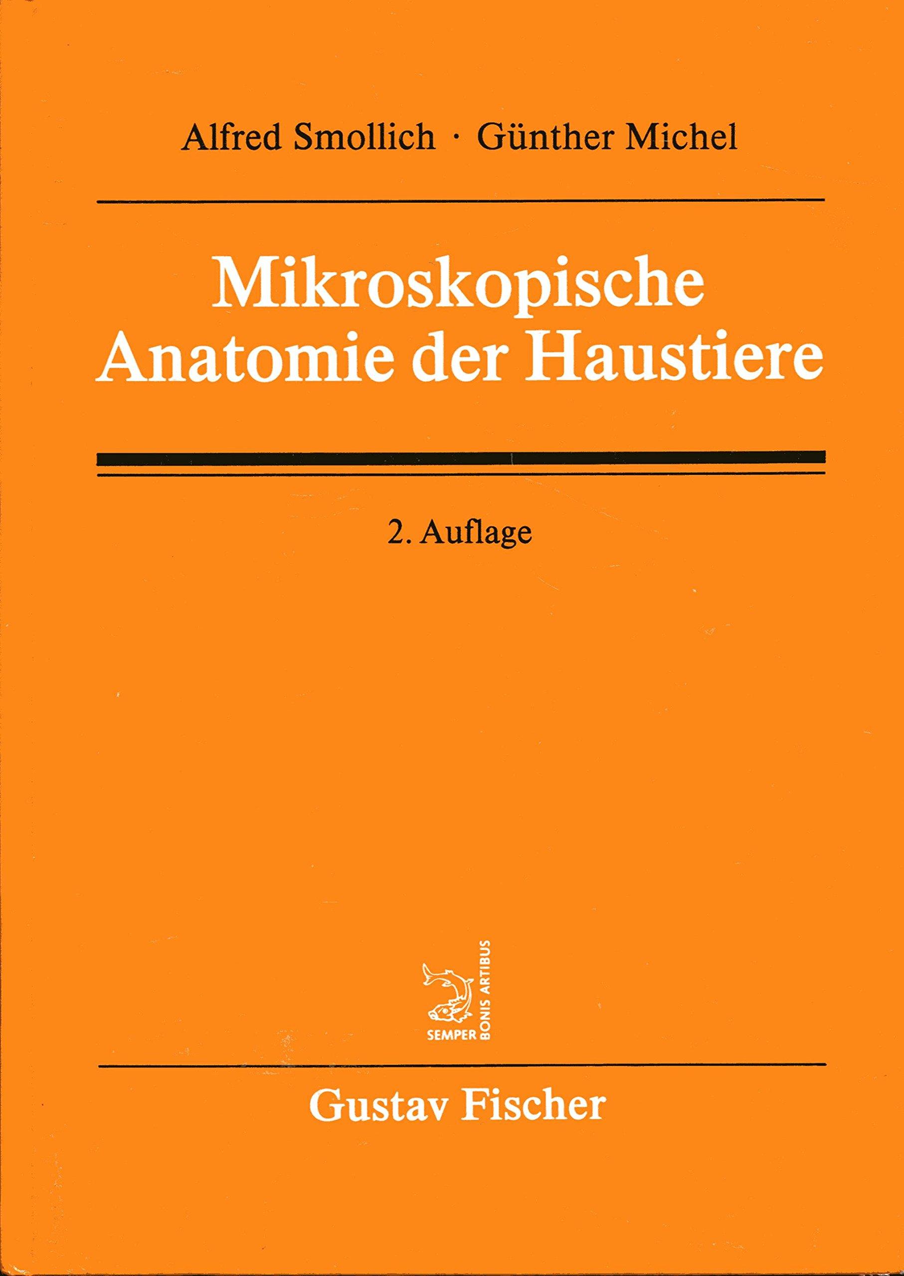 Mikroskopische Anatomie der Haustiere: Amazon.de: Alfred / Michel ...