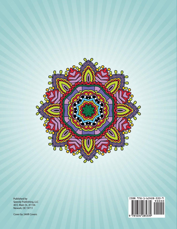 Mandala coloring pages (jumbo coloring book) - Mandala Coloring Pages Jumbo Mandala Coloring Pages Jumbo Coloring Book Speedy Publishing Llc 9781634285339 Amazon