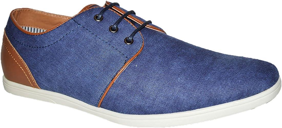 Xelay - Zapatillas de deporte para hombre con forro de piel informal, con cordones para verano, tallas 36 a 11