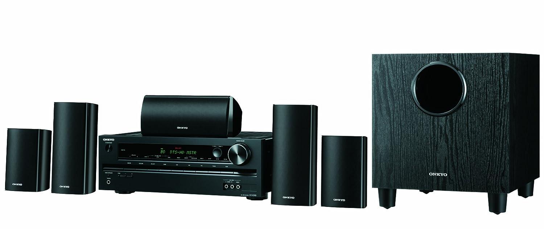 onkyo surround sound speakers. amazon.com: onkyo avx-290 5.1-channel home theatre receiver/speaker package (discontinued by manufacturer): audio \u0026 theater surround sound speakers f