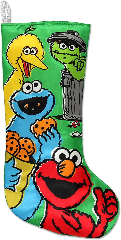 Kurt Adler Sesame Street 50th Anniversary Retro Stocking