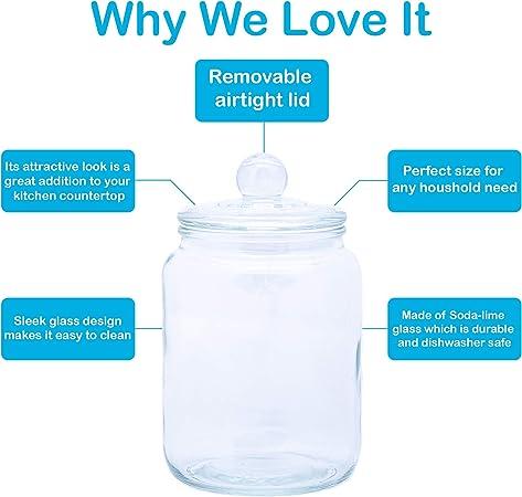 JAR Glass Airtight Cap Bomboniere door Confetti eighteen 18 years degree