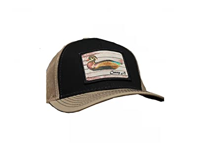 9315f8fe422 Image Unavailable. Image not available for. Color  Hunting and Fishing  Depot Heritage Casey A Wood Duck Decoys Patch Trucker Hat