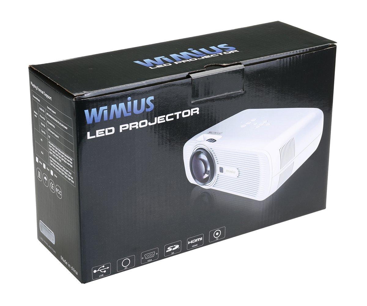 WiMiUS Proyector LED Portátil Plata - la familia Energy Efficient ...