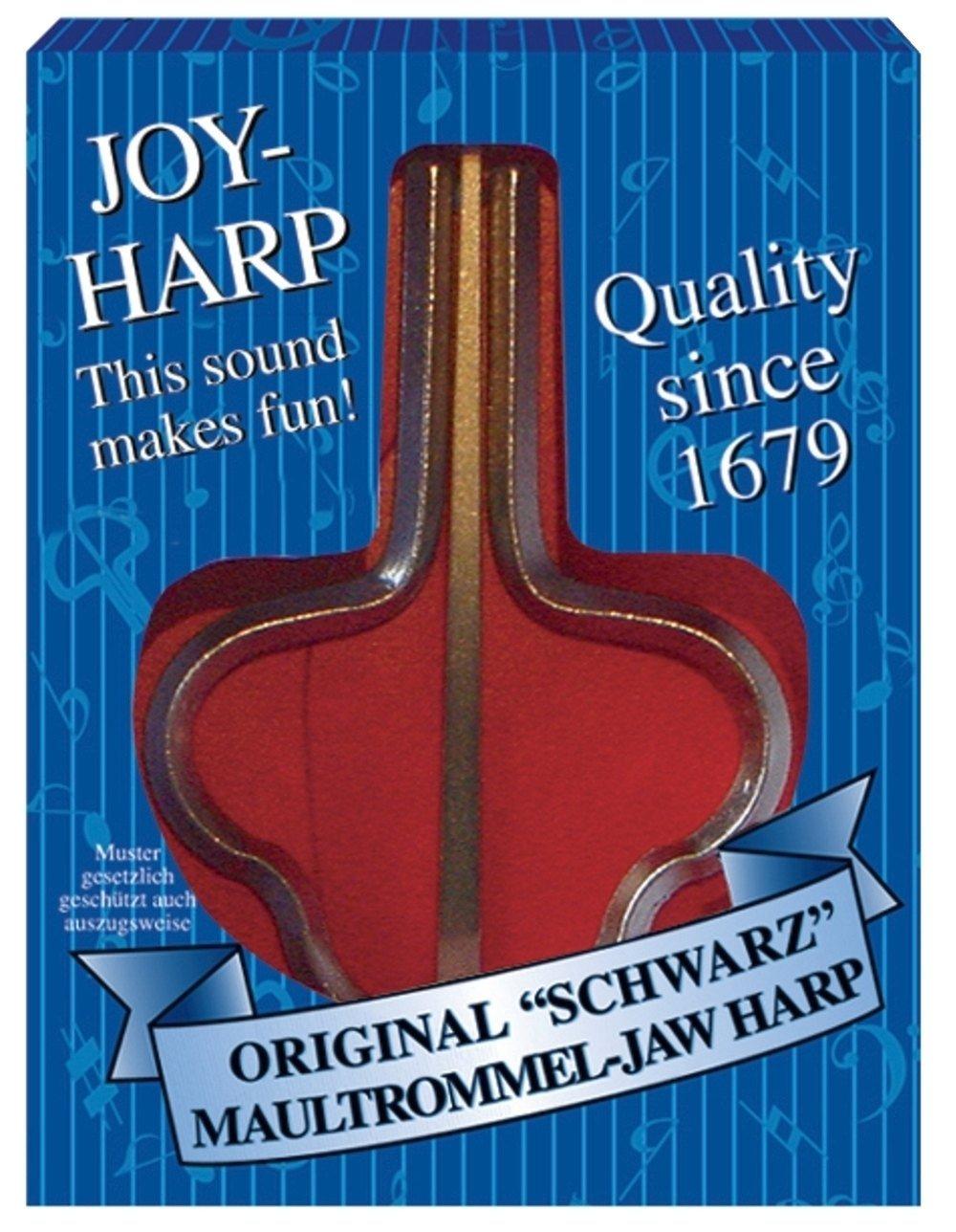 Orig. Schwarz Maultrommel JOY HARP 82mm, Nr. 15 Original Schwarz