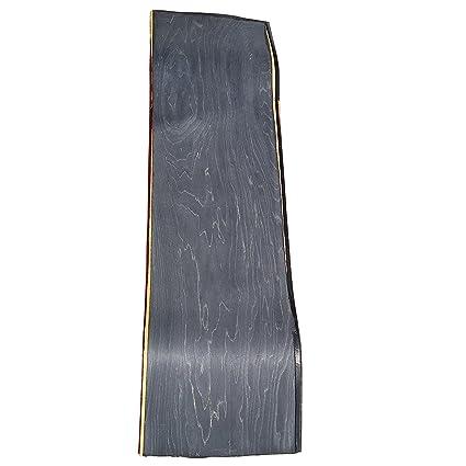 Blank Skateboard Decks Skateboard pressing uncut concave blank BLACK