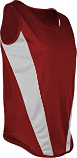 product image for TR-522W-CB Women's Performance Sprint Single Ply Lightweight Singlet with Panels