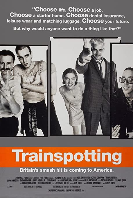 Choose Life Quote Trainspotting Movie Large CANVAS Art Print A0 A1 A2 A3 A4