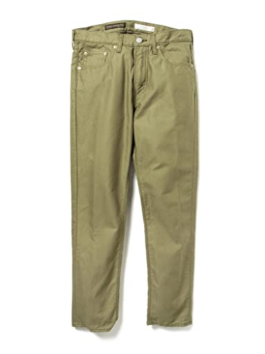Sateen Jeans 51-21-0039-794: Olive Drab
