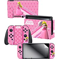 "Controller Gear Nintendo Switch Skin & Screen Protector Set, Officially Licensed By Nintendo - Super Mario ""Princess…"