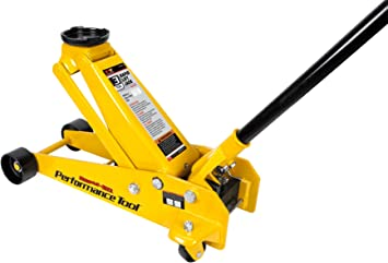 Amazon Com Performance Tool W1616 3 Ton 6 000 Lbs Capacity Rapid Lift Floor Jack Automotive