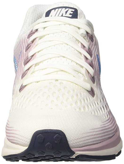 Amazon.com | Nike Womens WMNS Air Zoom Pegasus 34, Summit White/Equator Blue, 6 M US | Shoes