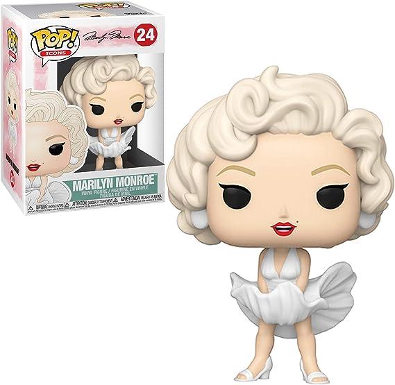 Funko- Pop Icons: Marilyn Monroe (White Dress) Figura ...