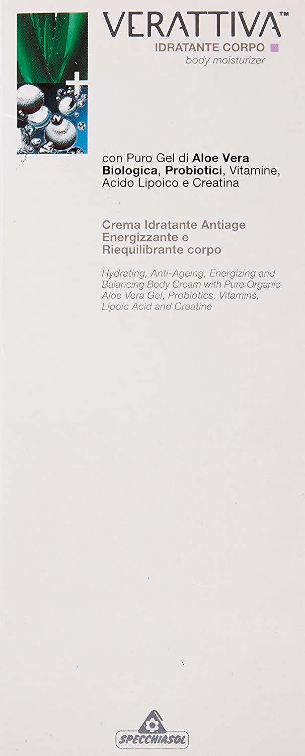 Amazon.com : Verattiva Hydrating, Energizing, Anti-ageing Body Treatment, 7-Fluid Ounce : Body Gels And Creams : Beauty