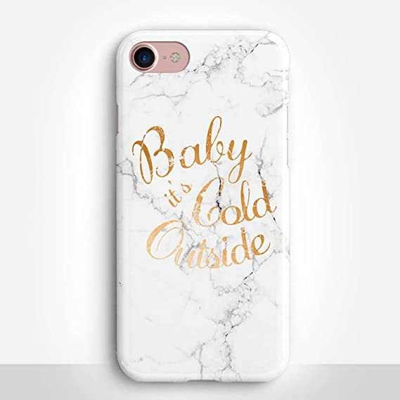 competitive price e2375 8761b Amazon.com: Baby It's Cold Outside iPhone 7 Case by Catching ...