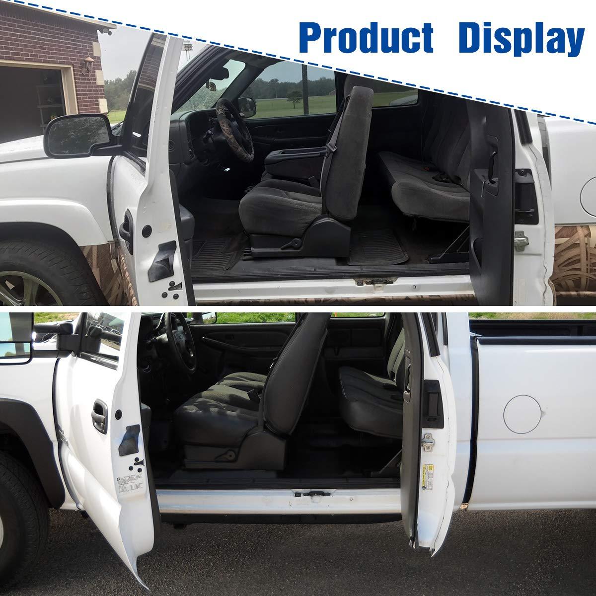 Compatible for Chevy Silverado Extended Cab Door Handle, YITAMOTOR
