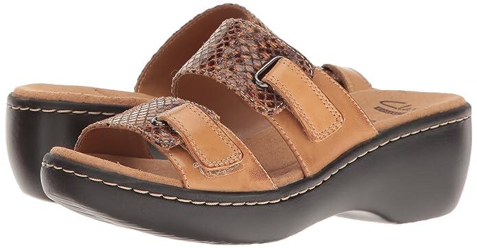 e1c591a68261 Clarks Women s Delana Fenela Slides  Amazon.ca  Shoes   Handbags