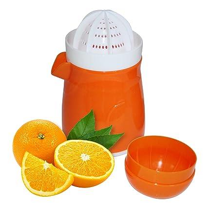 Exprimidor Manual de Frutas - Exprimidor de Limón, Lima y Naranja - Duradero, Compacto y Ligero, ...