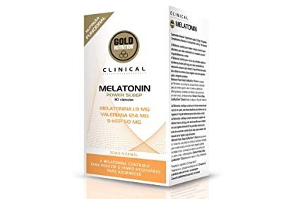 GoldNutrition Melatonin Power Sleep - 30 Cápsulas