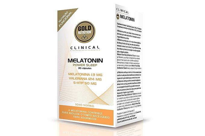 GoldNutrition Melatonin Power Sleep - 30 Cápsulas: Amazon.es: Salud y cuidado personal