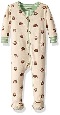 699ec4eef0 Hatley Baby Boys Organic Cotton Footed Sleeper Huggable Hedgehogs 0-3 Months