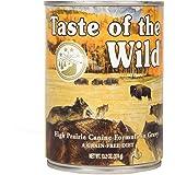 Taste Of The Wild High Prairie Can Dog Food,13.2 Oz case of 12