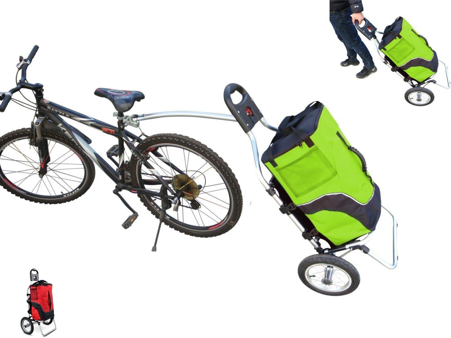 Carro Polironeshop Geko para bicicleta, ideal pra llevar la compra ...